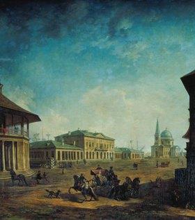 Fjodor Jakowlewitsch Aleksejew: Ansicht der Stadt Nikolajew