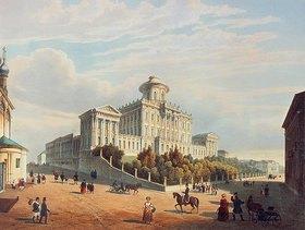 Louis P. Alphonse Bichebois: Das Paschkow-Haus in Moskau. 1830-er Jahre