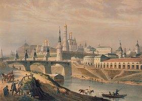 Louis P. Alphonse Bichebois: Ansicht des Moskauer Kreml