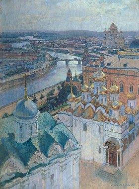 Nikolaj Grizenko: Blick vom Glockenturm Iwans des Grossen auf Moskau