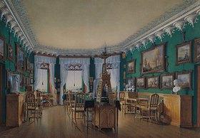 Edouard Hau: Das Studio von Zar Nikolaus I. im Landhaus von Schloss Peterhof