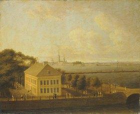 Andrej Efimowitsch Martynov: Blick auf die Newa und den Sommerpalast Peters des Grossen in St. Petersburg