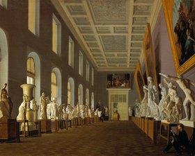 Jegor Jegorowitsch Meier: Skulpturensaal im Palast von Pavlovsk