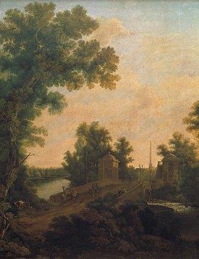 Semjon Fedorow Stschedrin: Brücke im Park von Gatschina