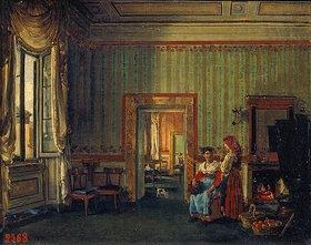 Silvester Stschedrin: Interieur im Hause des Fürsten Golitschin in Rom