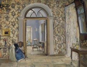 Alexander Sredin: Ankleidezimmer in Obninskij´s Landhaus Belkino