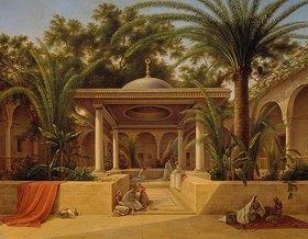 Grigorij G Tschernezoff: Der Kabanija-Brunnen in Kairo