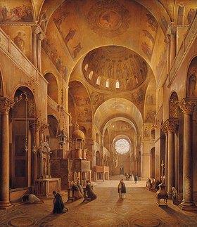 Grigorij G Tschernezoff: Inneres von San Marco in Venedig
