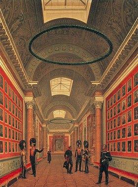 Nikanor Grigorj Tschernezow: Die Kriegs-Galerie im Winterpalast von St.Petersburg. 1830-er Jahre
