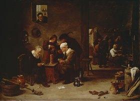 David Teniers: Kartenspieler und Raucher