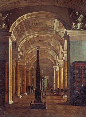 Alexej Wassiljew Tyranoff: Die Bibliothek in der Eremitage