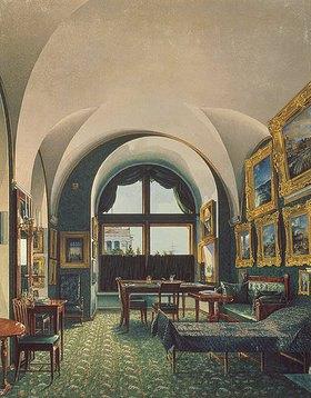 Konstantin Ukhtomsky: Das kleine Studio von Zar Nikolaus I. im Winterpalast von St.Petersburg
