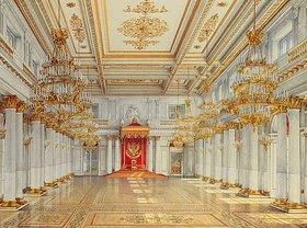 Konstantin Ukhtomsky: Die St.Georgs-Halle im Winterpalast von St.Petersburg