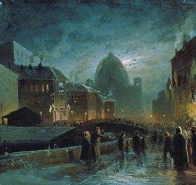 Fjodor Wassiljew: Festbeleuchtung in St.Petersburg
