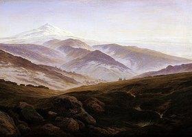 Caspar David Friedrich: Erinnerungen an das Riesengebirge