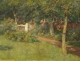 Wilhelm Claudius: Rosen am Gartentor