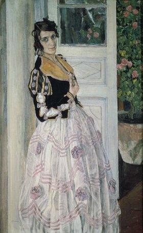 Alexander Jakowlev Golowin: Bildnis einer Spanierin