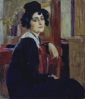 Alexej Korin: Bildnis einer französischen Dame