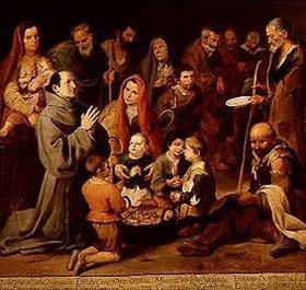 Bartolomé Estéban Murillo: Die Armenspeisung des hl.Diego von Alcala
