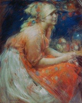 Abram Archipov: Ein Bauernmädchen