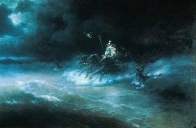 Konstant.Iwan Aiwassowskij: Poseidons Reise über das Meer