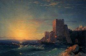 Konstant.Iwan Aiwassowskij: Befestigungen am Bosporus