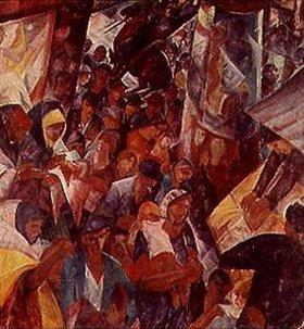 Gyula Derkovits: Straße