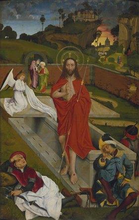 Hans Pleydenwurff: Hofer Altar, re.Flügel innen: Auferstehung Christi