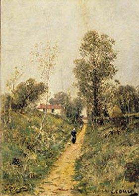 Alexej Petrowitsch Bogoljubov: Landstrasse (Ecouin)