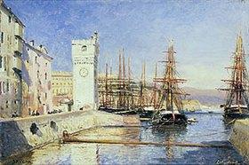 Alexej Petrowitsch Bogoljubov: Im Hafen von Savona