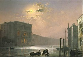 Alexej Petrowitsch Bogoljubov: Der Canale Grande in Venedig am Abend. Nach