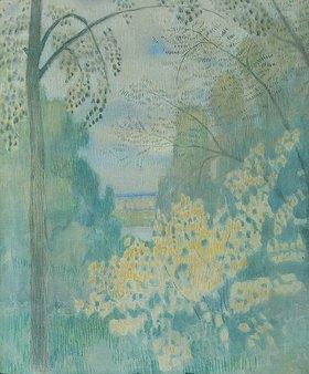 Viktor Borissow-Mussatow: Nussbäume. 1905.
