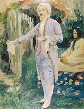 Viktor Borissow-Mussatow: Galanter Vortrag (Gedicht-Lesung). 1899/1900