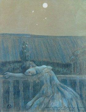Viktor Borissow-Mussatow: Sorgen. 1903.