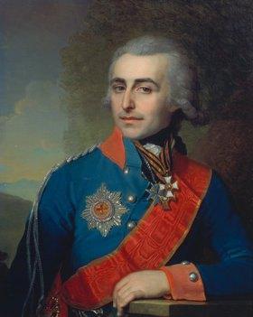 Wladimir Luk Borowikowski: Fürst P. Tolstoy (1761-1844) Generalfeldmarschall, Bildnis