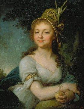 Wladimir Luk Borowikowski: Bildnis der Jekaterina Arsenjeva. 1790-er Jahre