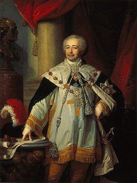 Wladimir Luk Borowikowski: Bildnis des Vizekanzlers A. Kurakin (1752-1818)
