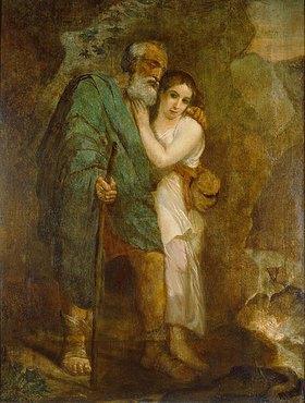 Karl Brüllow: Ödipus und Antigone