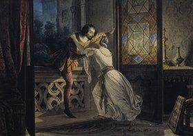 Karl Brüllow: Romeo und Julia. 1830-er Jahre