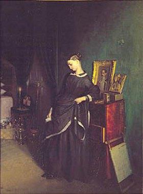 Pawel Fedotow: Die junge Witwe