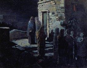 Nikolai Gay: Christus in Gethsemane nach dem Hl. Abendmahl