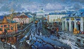Konstantin Gorbatov: Schneeschmelze in einer Provinzstadt