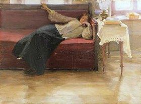Jakov Kalinichenko: Träume (Ruhende Frau)