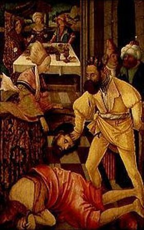 Erhard Altdorfer: Die Enthauptung Johannes des Täufers