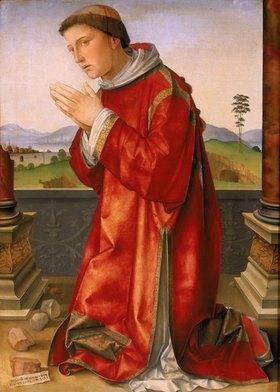 Francesco (Raibolini) Francia: Martyrium des heiligen Stephan