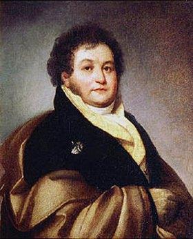 Orest Kiprenski: Bildnis des Hofherren Fürst V. Musin-Puschkin-Brus