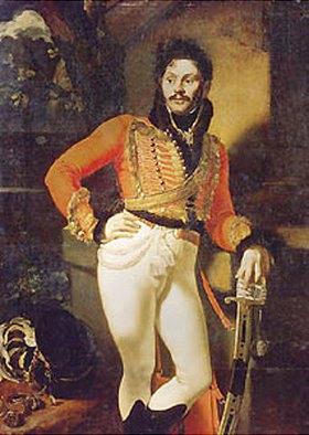 Orest Kiprenski: Bildnis des Husaren-Kolonells Jewgraf V. Davidoff (1775-1823)