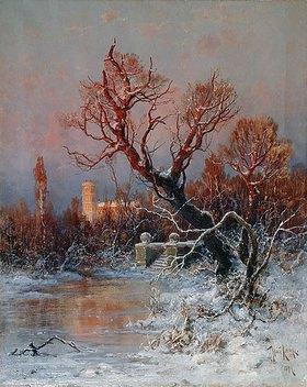 Julius Sergius von Klever: Im Park des Gatschina-Palastes  bei St. Petersburg