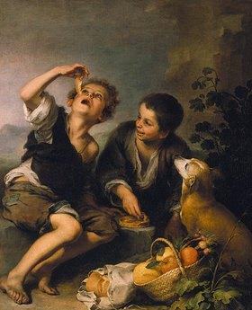 Bartolomé Estéban Murillo: Die Pastetenesser