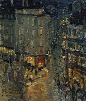 Alexejew. Konstantin Korovin: Paris, der Boulevard des Capucines